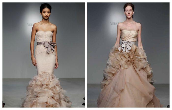 Свадебные платья с красивым поясом, фото