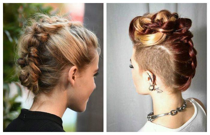 Еще одна новинка среди причесок на средние волосы, которую можно выполнить в домашних условиях. Стильная прическа Кайзы.