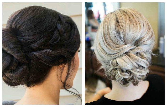 Вечерние прически на средние волосы с плетением.