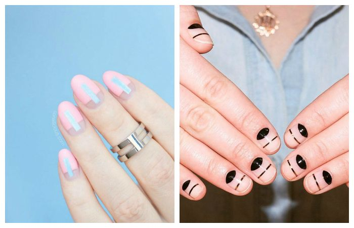 Модные новинки и идеи  рисунков на ногтях, фото