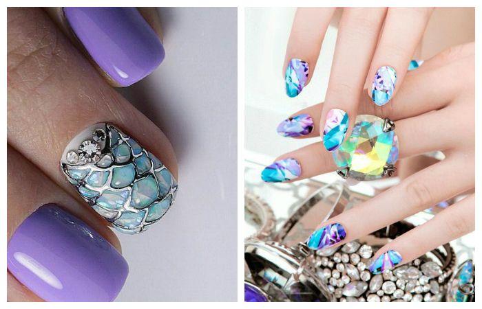Красивые рисунки на ногтях, фото