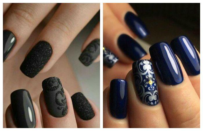 Модные рисунки на ногтях и оттенки лаков 2016 - 2017