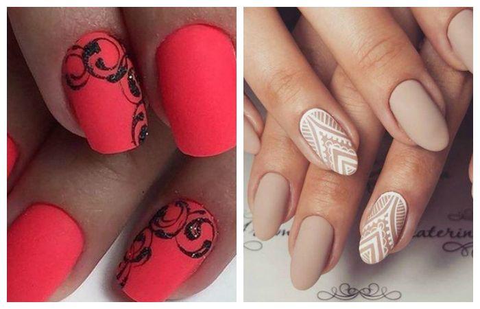 Узоры на ногтях гель-лаком, фото