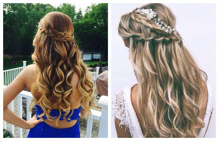Прически распущенных длинных волос