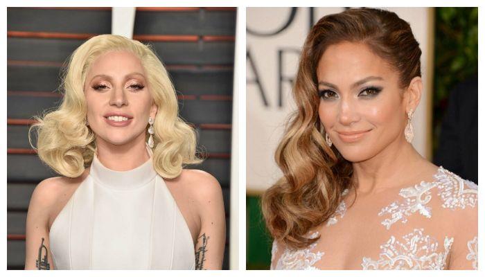 Голливудские вечерние прически с красивыми локонами на средние волосы