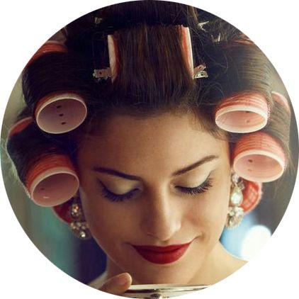 Укладка волос, фото