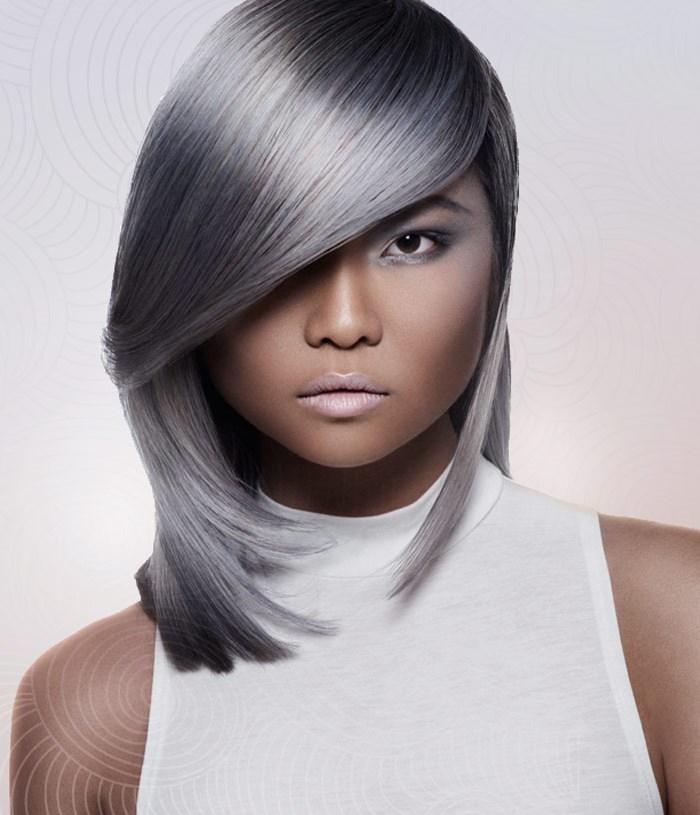 Креативные стрижки для средних волос, фото