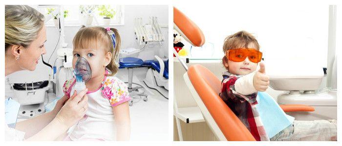Лечить деткам зубы можно и под наркозом.