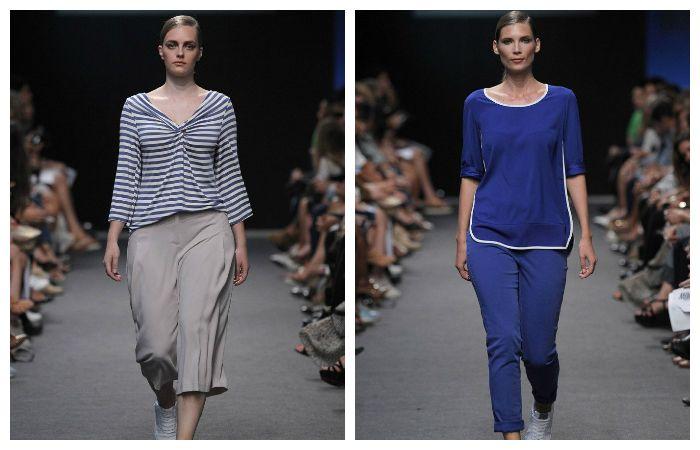 Блузки, кофты и туники рекомендуется покупать с V-образным, либо круглым глубоким вырезом, либо с открытыми плечами