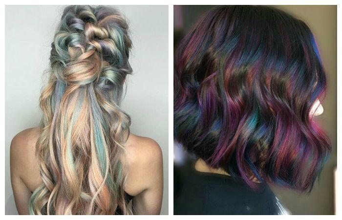 """Красивое окрашивание волос """"серебристые блики"""""""