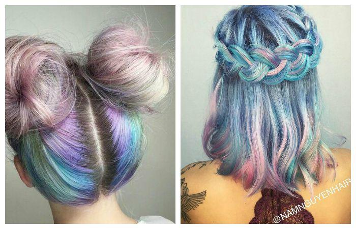 Модные оттенки окрашивания волос, фото