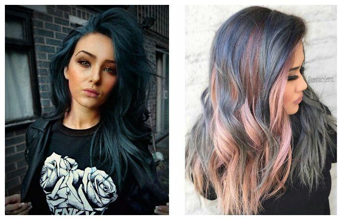 Стильная покраска волос, фото