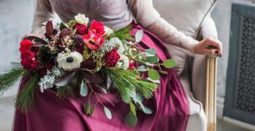 Модные цветы и букеты 2017