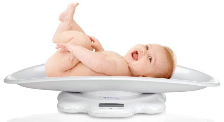 Underweight in infants