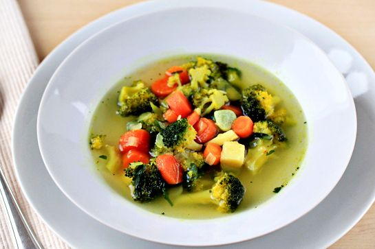 Канадская диета, суп