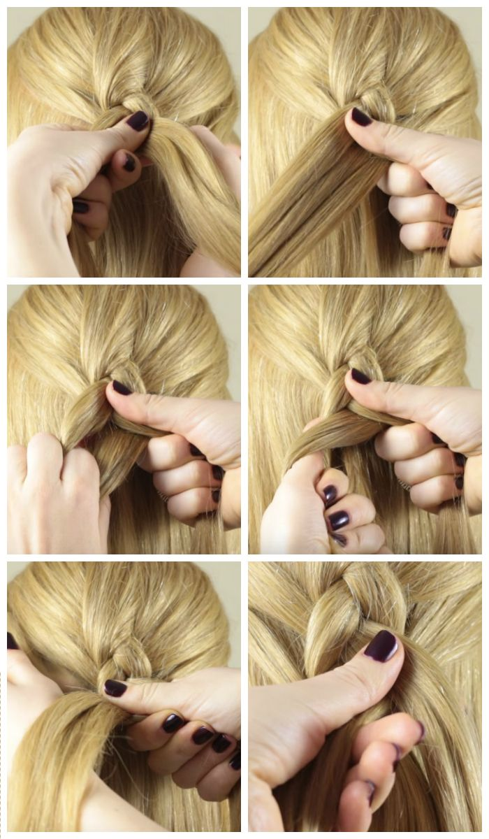 Обратная французская коса: пошаговое плетение для начинающих, фото