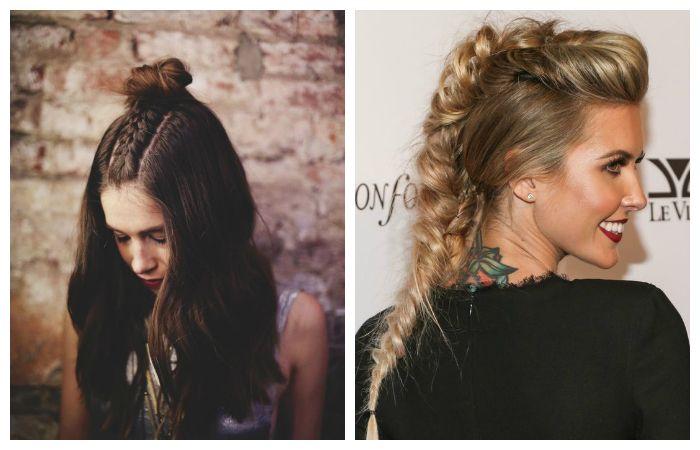 Модные прически с косами