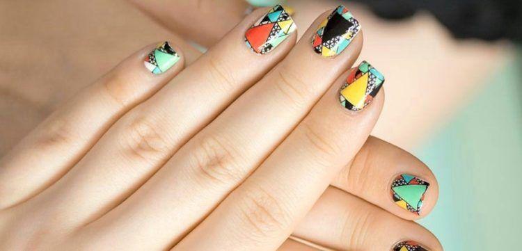 Рисунки на ногтях гель-лаком: свежие фото и инструкции для начинающих