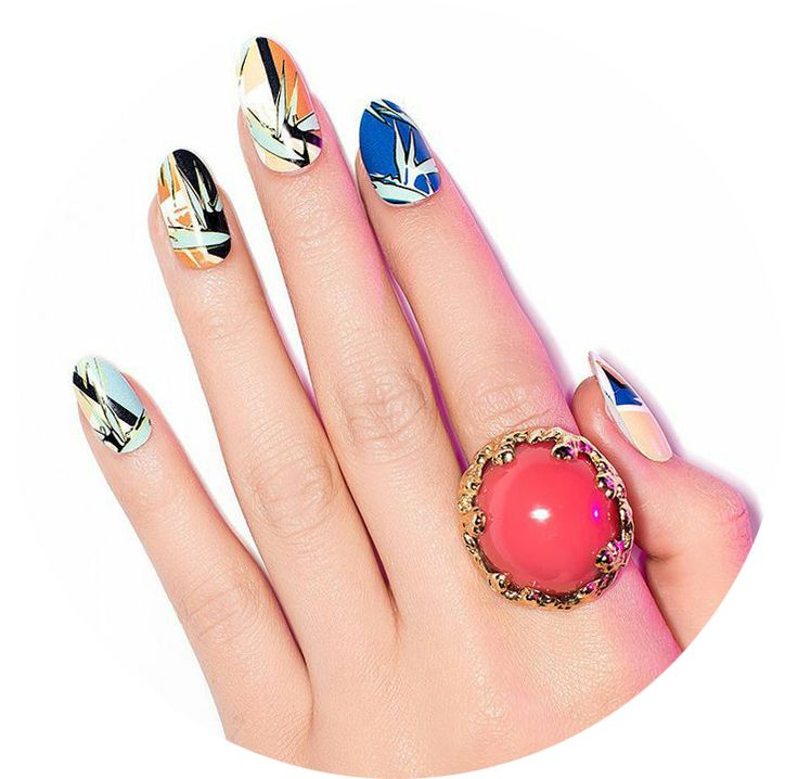 Рисунки на ногтях гель-лаком, фото