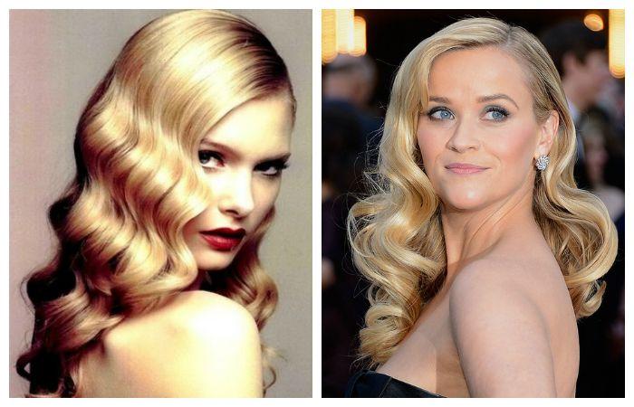 """Укладка """"Голливудская волна"""" на длинные волосы"""