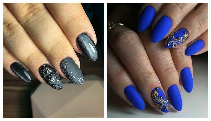 Рисунки на ногтях Вензеля