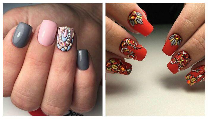 Рисунки на ногтях Sweet bloom