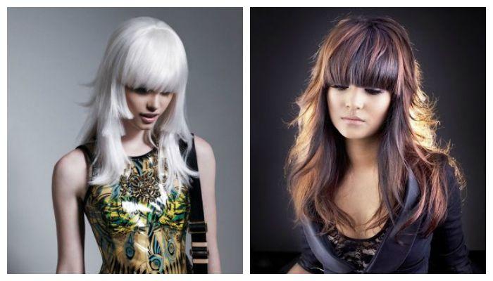 Стрижки на средние волосы, фото