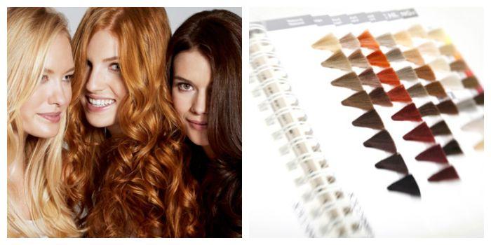 Выбор краски для волос