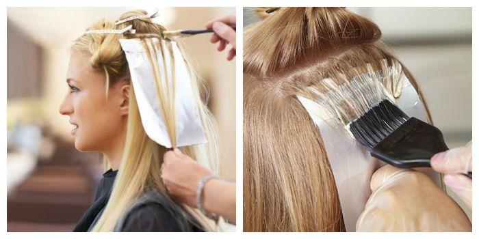 Краска для волос, фото
