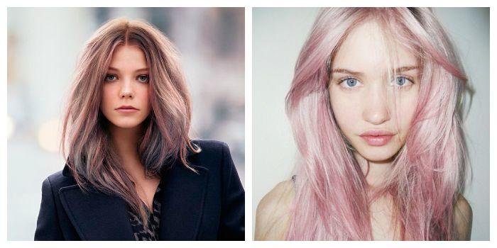 Фото модных оттенков красок для волос