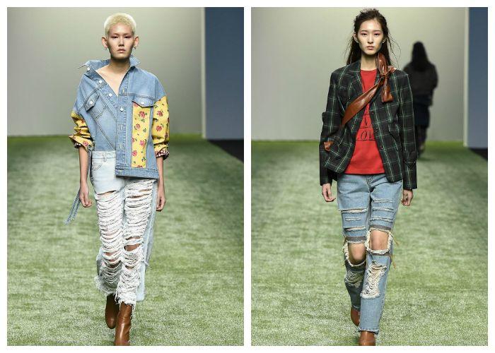 С чем носить модные джинсы в сезон весна-лето 2017, фото