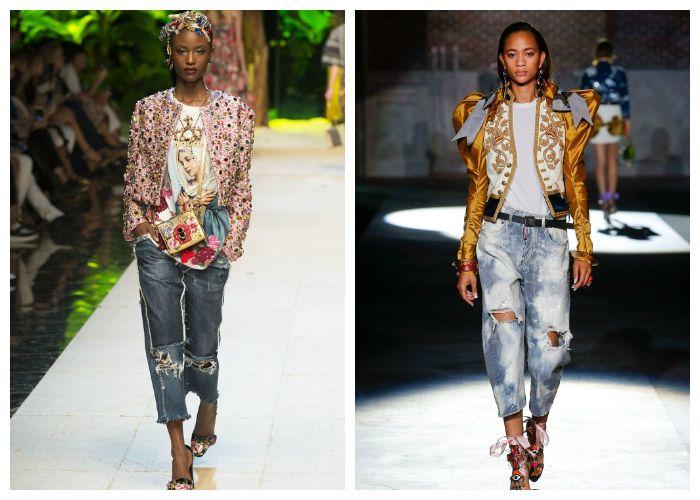 Модные укороченные модели