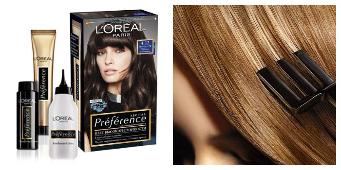 Краска для волос Лореаль Преферанс, Loreal Preference