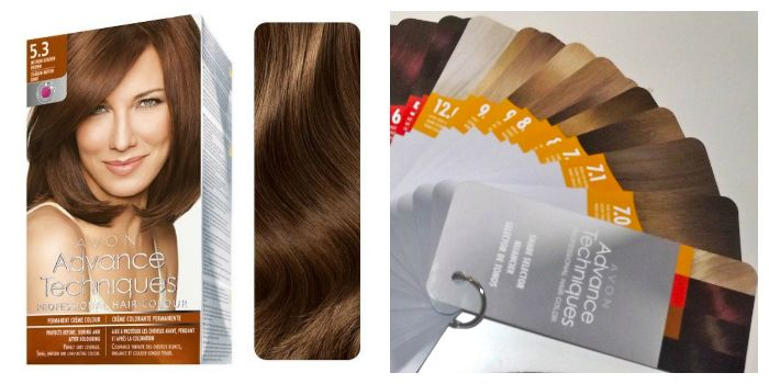 Avon Advance Techniques, крем-краска для волос