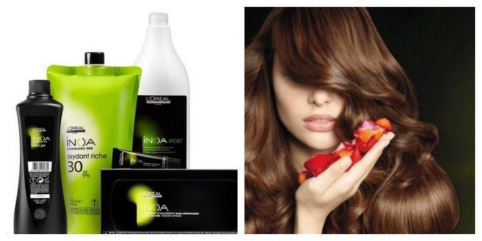 Inoa - французская краска для волос