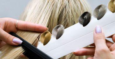 Палитра красок для волос, фото