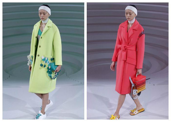 Модные цвета пальто весна 2017