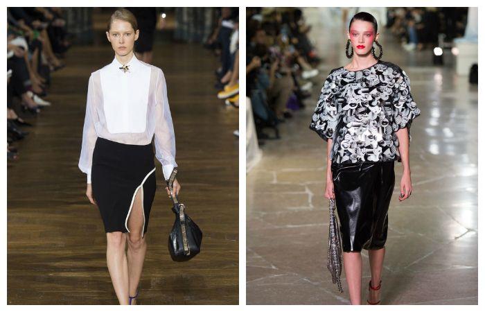 С чем носить модную юбку-карандаш?