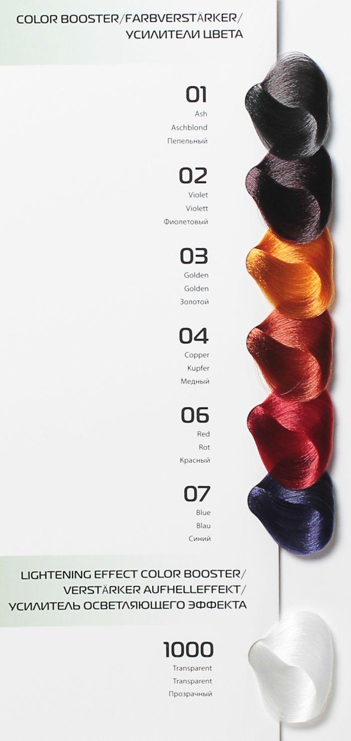 Палитра цветов краски для волос Kapous.