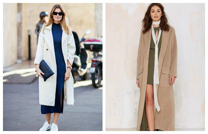 Модное женское пальто, фото