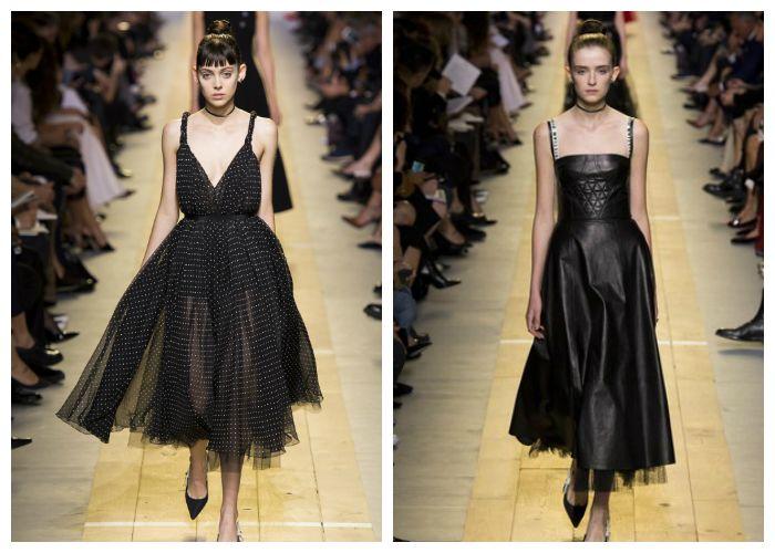 Летние платья из коллекции Christian Dior