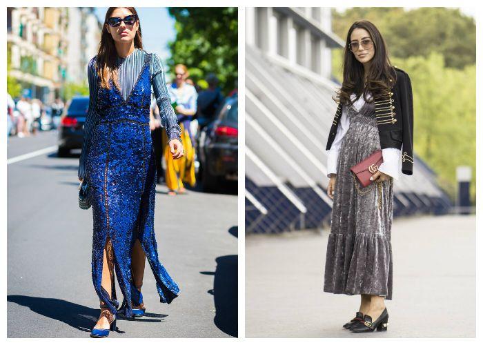 С чем носить летние платья и сарафаны 2018