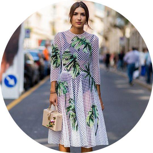 Летние платья и сарафаны 2018, фото