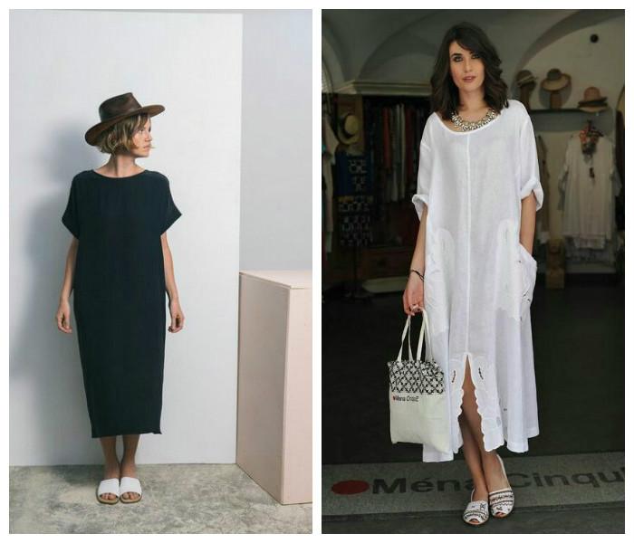Тренд №7: Длинное летнее платье