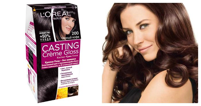 Краска для волос Кастинг