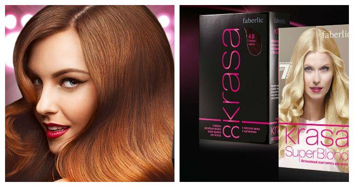 Краска для волос Фаберлик