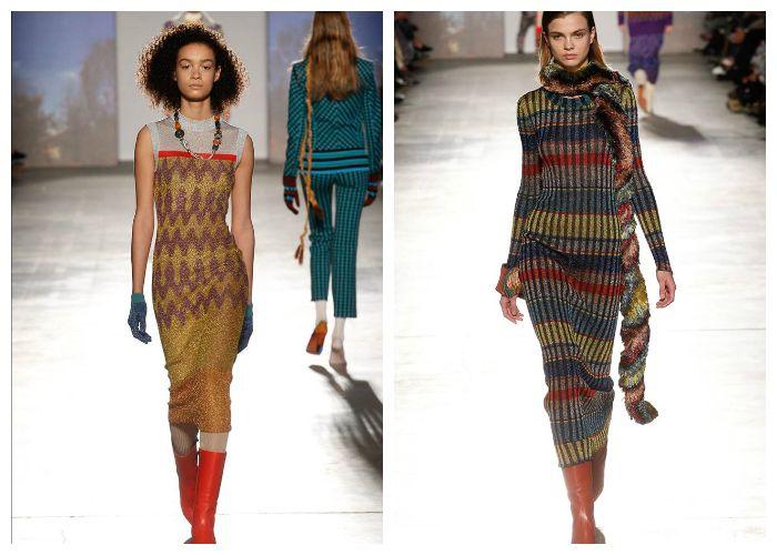 Мода 2017 на трикотажные платья