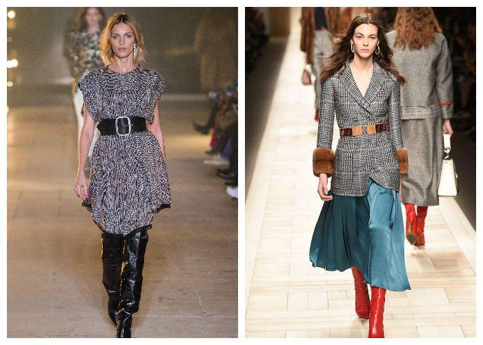 Тренд в одежде 2018 - Акцент на талии