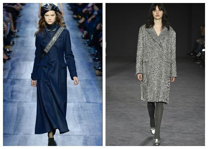 Тренд в одежде 2018 - Пальто с карманами