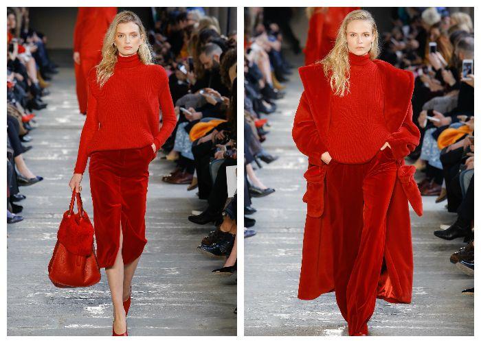 Модный цвет 2018 - Красный